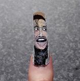 Here's Johnny! Halloween nail art.