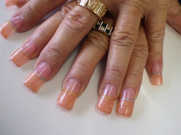 PEACHY FRENCH CHIC