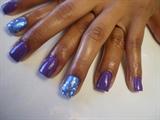 Blue Glitters!