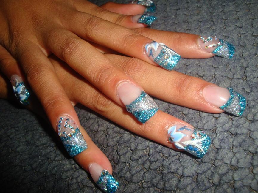 Quinceañera Nails Nail Art