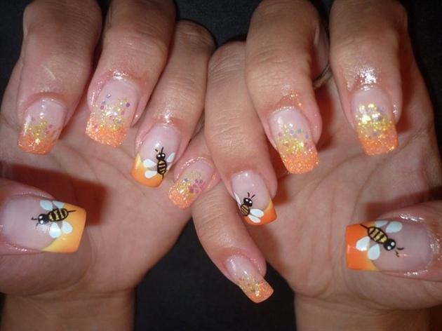 orange bee