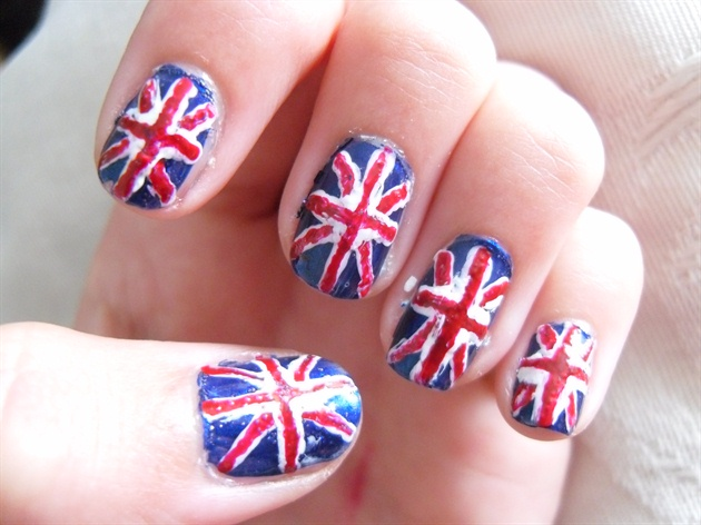 A better picture...Jubilee nails!