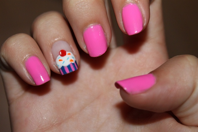 Cupcake nails nail art gallery cupcake nails prinsesfo Gallery