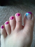 Bedazzled Toes