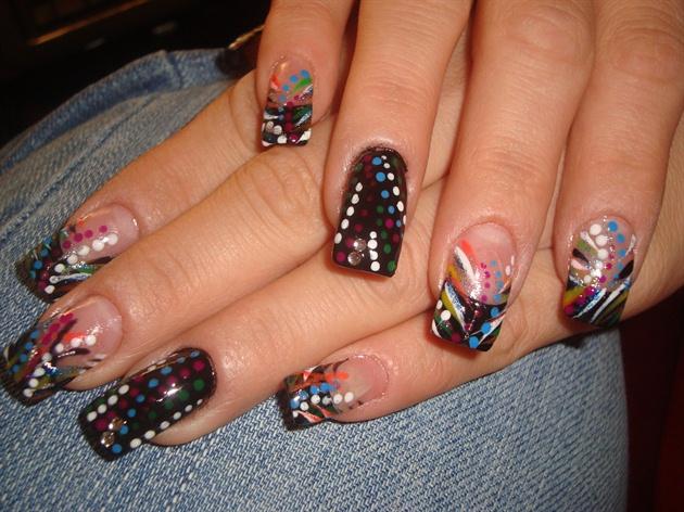 Gothic Nails Nail Art Gallery
