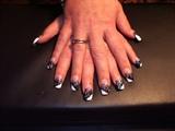 Glitter, Black & White