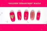 Golden Treasures Nails