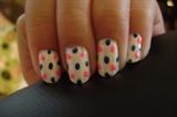 pink and blue polka dots