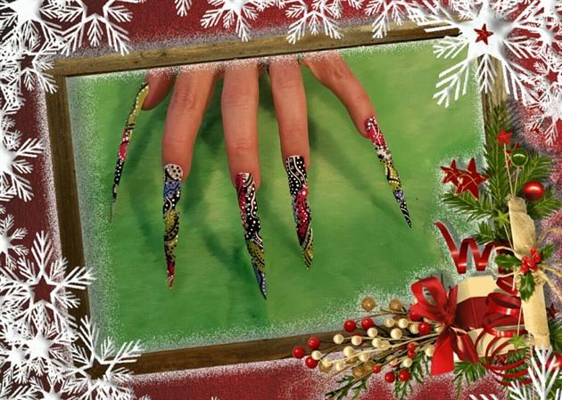Christmas Stilettos