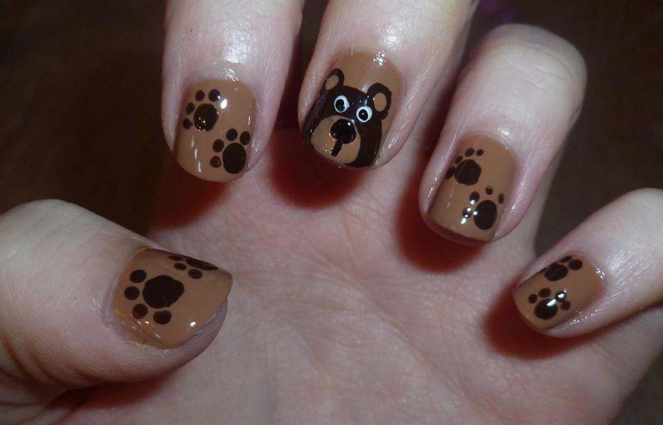 Creative nail design animal testing : Animal print nail art to inspire you design ideaz