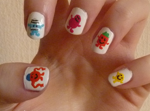 Mr Men Nails (1)