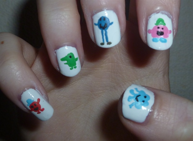 Mr Men Nails (2)