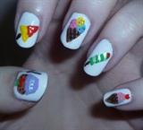 Ice Cream & Ice Lolly Nails