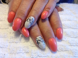 nail art: Blissful