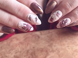 Coloranestezy Autumn nail design