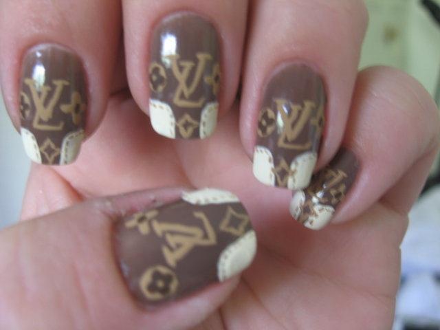 Louis Vuitton Nails - Nail Art Gallery