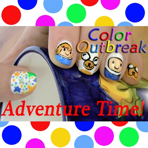 ☆Adventure Time! Nail Art Designs☆