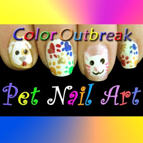 ღCute Cat & Dog Nail Art Designsღ