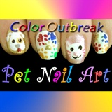 ღCute Cat & Dog Nail Art Designsღ