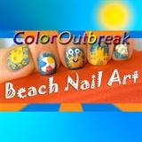 Spring and Summer Beach Nail Art Designs