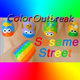 ♥Sesame Street Nail Art Designs♥