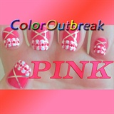 ♥Pretty in Pink Cute Nail Art Designs♥