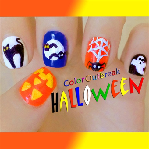 *`•.Halloween Nail Art Designs*`•.