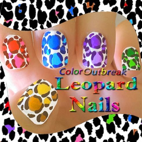 ღLeopard Print Easy Nail Art Designsღ