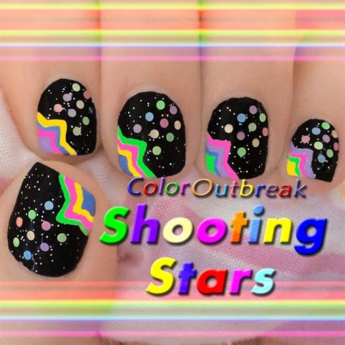 ☆Shooting Star Nail Art Designs☆