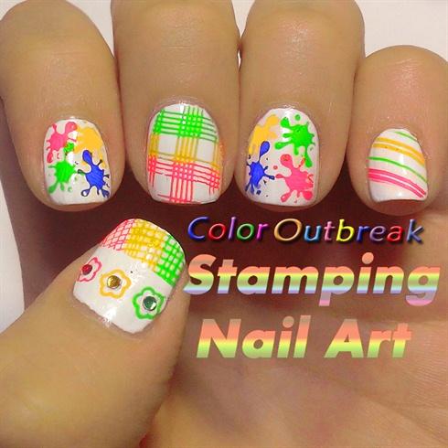 ツStamping Nail Art Designs ツ