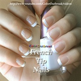 ✿Stamping Nail Art Designs-French Tip✿