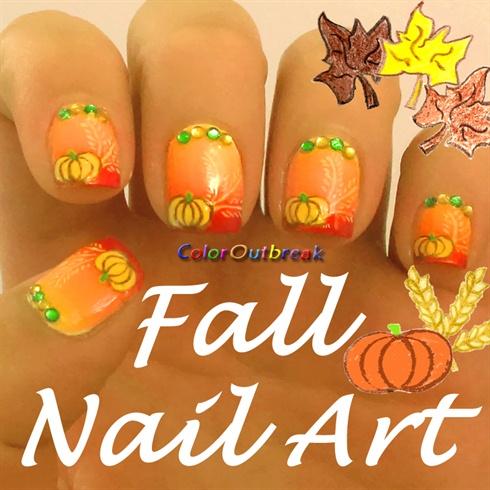 Fall Halloween Thanksgiving Nail Art Nail Art Gallery