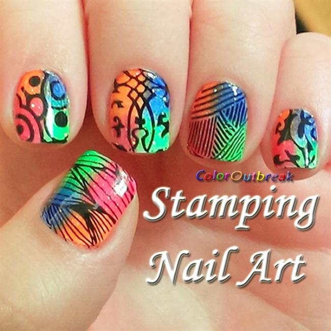 Stamping Nail Art Designs Plate Bp 21 Nail Art Gallery