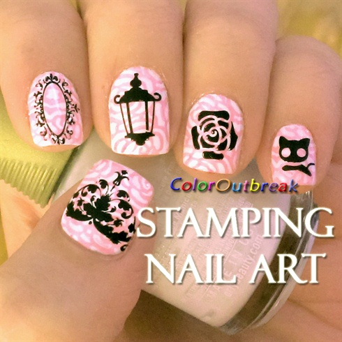 ✿Stamping Nail Art Designs- Plate BP-03✿