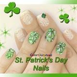 Stamping Nail Art Designs- St. Patrick's