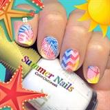 ✿Spring/Summer Stamping Nail Art Designs