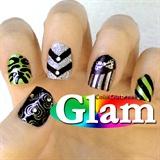 ✿Stamping Nail Art Designs- Hearts, Bows