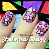ღStained Glass Nails BP-L003ღ