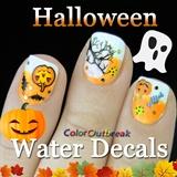 ☆Halloween Nails-Water Decals 2015☆
