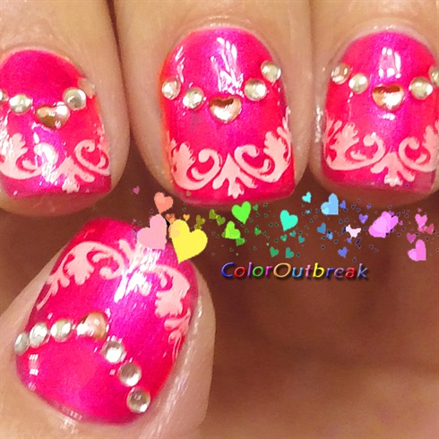 ✿Valentine's and Mother's Day Nail Art✿
