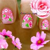 ✿Dotting Tool Floral Nail Art Designs✿