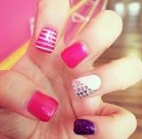 Stripes And Diamonds