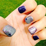 Heart Purple And Glitter