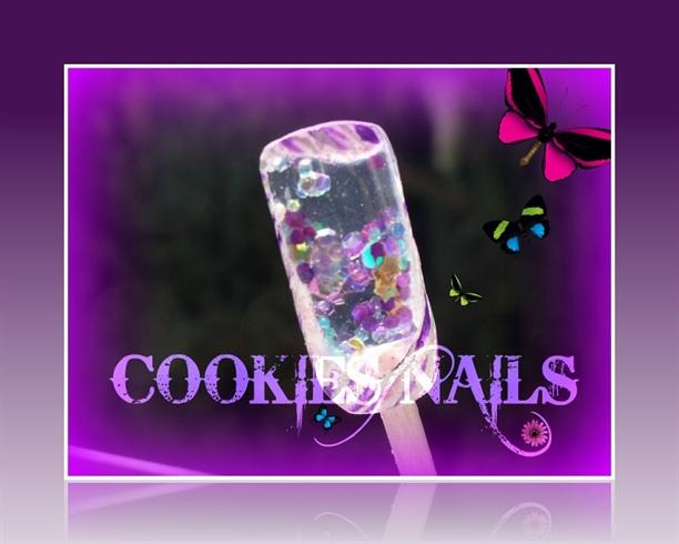 COOKIES NAILS...aquarium nails