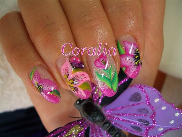 Lily nail 2 nail art gallery lily nail 2 prinsesfo Gallery