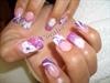 Ujvari Barbara insipred nails