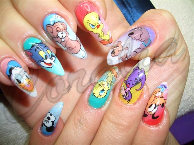 Cartoon Network Nail Art Gallery