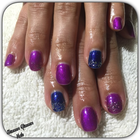 Purple&blue