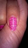 pink rhinestones