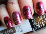 Glitter Cherry Blossom